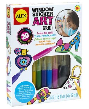 Alex Toys Window Sticker Art Glam