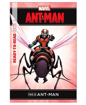 Marvel Ready To Read Level 1This Is Ant Man - English