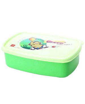 Cello Homeware Bheem Lunch Box Green - L 17.5 x B 12 x H 5 CM