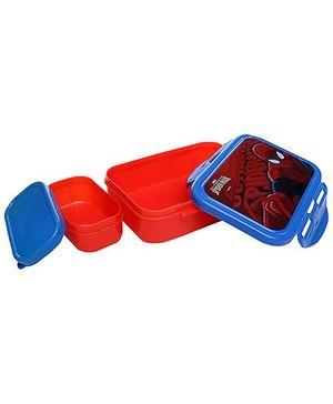 Cello Homeware Enigma Lunch Small Box - Blue And Red