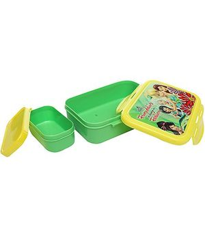 Cello Homeware Enigma Lunch Small - Green And Yellow