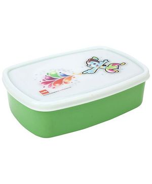 Cello Homeware Cute Big Krishna Print Lunch Box - Green