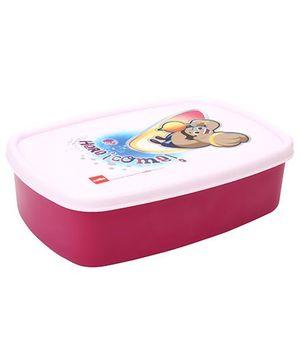 Cello Homeware Cute Big Print Lunch Box - Dark Pink
