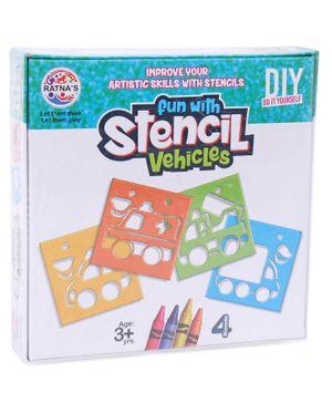 Ratnas Fun With Stencils Vehicles