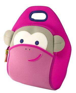 Blushing Monkey Lunch Bag