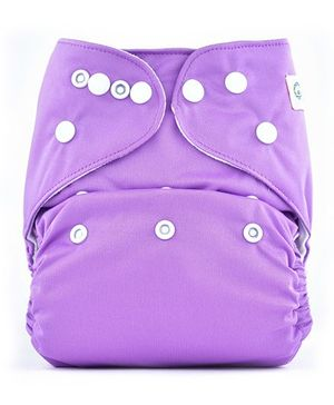 Bumberry Pocket Cloth Diaper With One Microfiber Insert - Violet