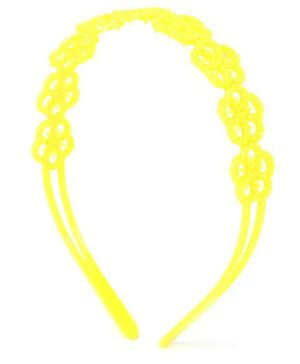 Stol'n Hair Band Floral Design - Yellow