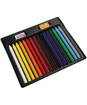 Camlim Kokuyo Artica Erasable Plastic Crayons - 16 Shades