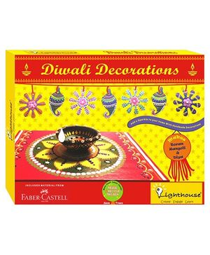 Lighthouse Diwali Decoration Kit - Multicolour