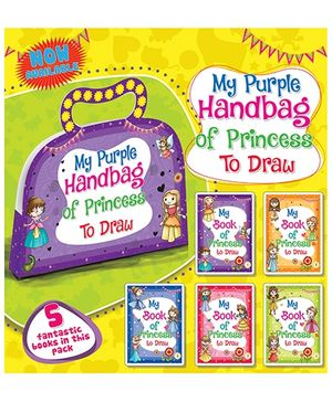 My Purple Handbag of Princess to Draw - English