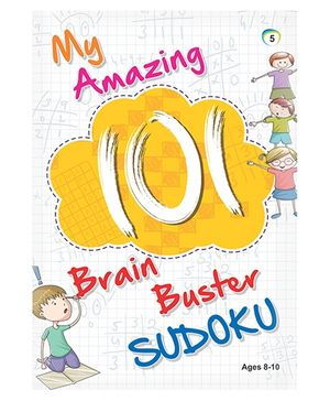 My Amazing 101 Brain Buster Sudoku Book 5 - English