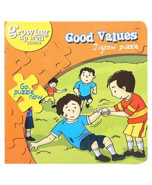 Fafa N Juno Good Values Jigsaw Puzzle Book - 4 Puzzles
