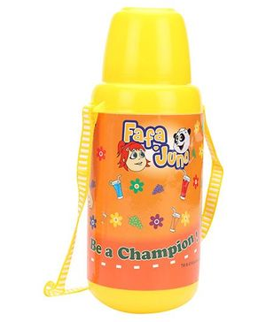 Fafa N Juno Sipper Bottle Yellow And Orange - 650 ml