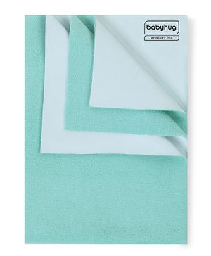 Babyhug Smart Dry Bed Protector Mat Sea Green - Large
