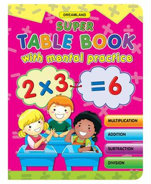 Super Table With Mental Practice - English