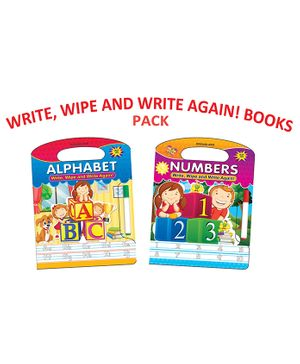 Write and Wipe Books Pack of 2 Titles - English