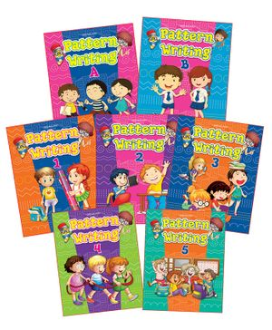 Pattern Writing Books Pack of 7 Titles - English