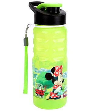 Disney Mickey Mouse And Friends Water Bottle Green - 550 ml