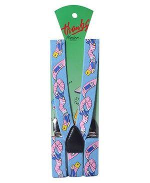Suspenders - Measuring Tape Design
