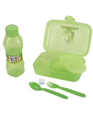 Pratap Happy Bite Lunch Box Set - Green