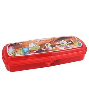 Pratap Success With Marker Pencil Box - Red