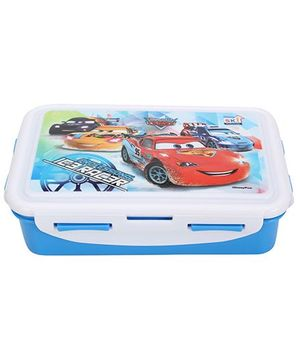 Disney Car Lunch Box - Blue And White