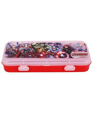 Marvel Avengers Pencil Box - Red
