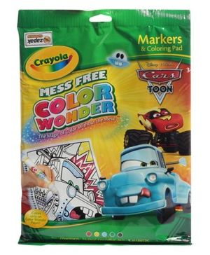 Crayola - Markers and Coloring Pad