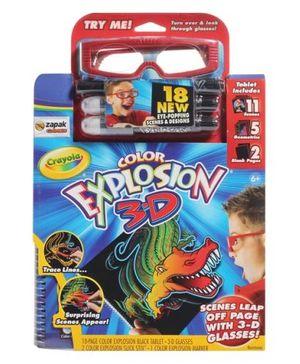 Crayola - Color Explosion 3-D
