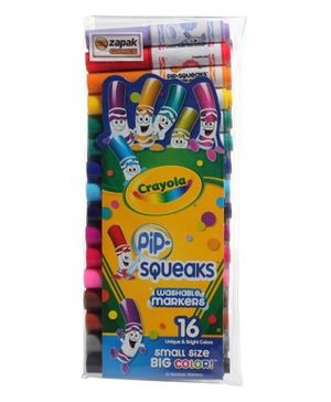 Crayola - 16 Ct Pip Squeaks Markers