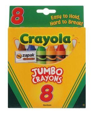 Crayola Jumbo Crayons 8