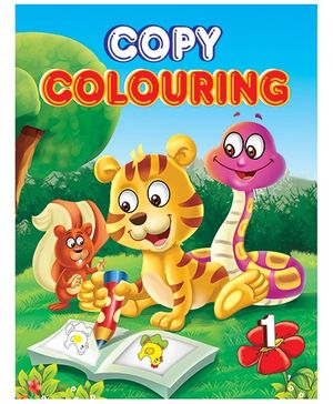 Copy Colouring Book 1 - English