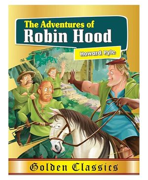 The Adventures Of Robin Hood Story Book - English