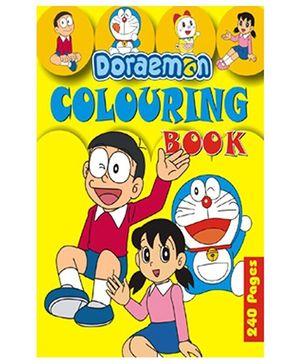 Doraemon Colouring Book - English