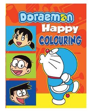 Doraemon Happy Colouring Book - English