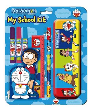 BPI Doraemon My School Kit - Blue