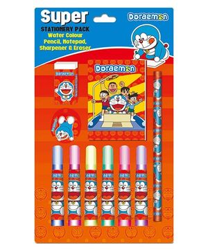 Doraemon Super Stationery Pack - Orange