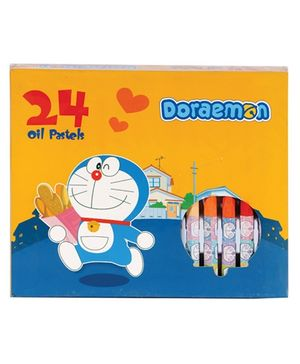 Doraemon Oil Pastels Colours - Pack Of 24