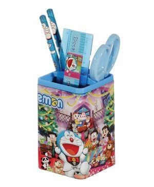 Doraemon Pen Stand Set - Blue