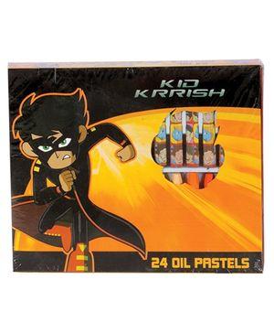 Kid Krrish Oil Pastels Colours - Pack Of 24