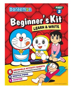 Doraemon Beginner's Kit 2 Learn And Write - English Hindi And Maths