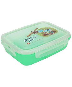 Cello Homeware Lunch Box Govinda Print - Light Green