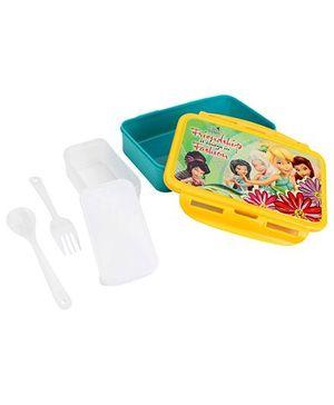 Cello Homeware Enigma Lunch Box Friendship Print - Green And Yellow