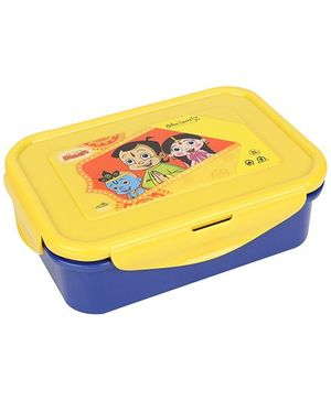 Chhota Bheem Lunch Box - Yellow And Blue