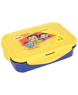 Chhota Bheem Lunch Box - Blue And Yellow