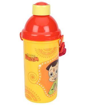 Chhota Bheem Sipper Water Bottle Red Yellow - 500 ml