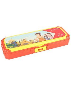 Chhota Bheem Pencil Box - Red And Yellow