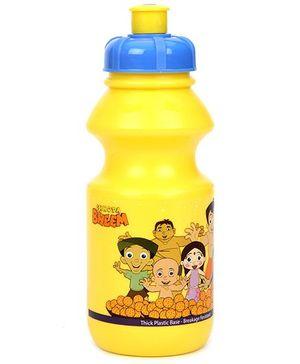 Chhota Bheem Sipper Water Bottle Yellow - 425 ml