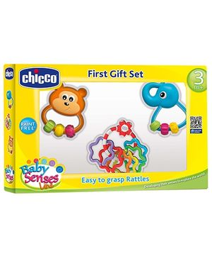 Chicco First Gift Set Baby Senses Line - Multicolor
