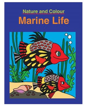 Nature And Colour Marine Life Book - English